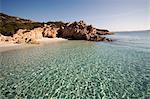 L'île de Spargi, îles de la Maddalena, La Maddalena National Park, Sardaigne, Italie, Méditerranée, Europe
