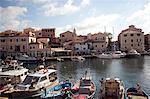 La Maddalena island port, Maddalena Islands, Sardinia, Italy, Mediterranean, Europe