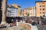 Panthéon et Piazza della Rotonda, Rome, Lazio, Italie, Europe