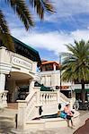 Cocowalk shopping mall in Coconut Grove, Miami, Florida, United States of America, North America