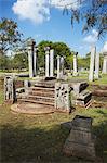 Ruines de Kujjatissa Pabbata Mahavihara monastère, Anuradhapura, Site du patrimoine mondial de l'UNESCO, Province centrale du Nord, Sri Lanka, Asie