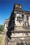 Thuparama (image de la maison), Quadrangle, Polonnaruwa, patrimoine mondial de l'UNESCO, Province centrale du Nord, Sri Lanka, Asie