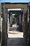 Hatadage, Quadrangle, Polonnaruwa, Site du patrimoine mondial de l'UNESCO, Province centrale du Nord, Sri Lanka, Asie