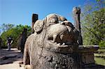 Council Chamber, Citadel, Polonnaruwa, UNESCO World Heritage Site, North Central Province, Sri Lanka, Asia