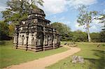 Shiva Devale Number 2, Polonnaruwa, UNESCO World Heritage Site, North Central Province, Sri Lanka, Asia