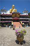 Golden Temple, UNESCO World Heritage Site, and Golden Temple Buddhist Museum, Dambulla, North Central Province, Sri Lanka, Asia