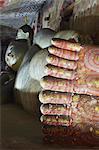 Liegender Buddha-Statue in der Höhle 2 der Höhlentempel, UNESCO Weltkulturerbe, Dambulla, nördlichen Zentralprovinz in Sri Lanka, Asien