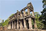 Preah Khan, parc archéologique d'Angkor, Site du patrimoine mondial de l'UNESCO, parc archéologique d'Angkor, Siem Reap, Cambodge, Indochine, l'Asie du sud-est, Asie
