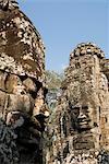 Bayon, Angkor Thom, parc archéologique d'Angkor, Site du patrimoine mondial de l'UNESCO, Siem Reap, Cambodge, Indochine, l'Asie du sud-est, Asie
