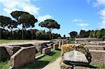 Ruines d'Ostia Antica, Rome, Lazio, Italie, Europe
