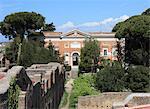 Le bâtiment de musée, Ostia Antica, Rome, Lazio, Italie, Europe