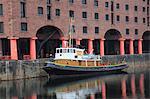 Albert Dock, Docks, UNESCO World Heritage Site, Liverpool, Merseyside, England, United Kingdom, Europe