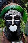 Chef tribal, Pajo, Mount Hagen, Highlands, Papouasie Nouvelle-Guinée, Pacifique