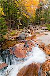 Franconia Notch State Park, New Hampshire, New England, États-Unis d'Amérique, l'Amérique du Nord