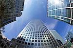 Canada Square, Canary Wharf, West India Docks, Docklands, London, England, United Kingdom, Europe