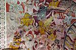 Dach Wandbilder, Dambulla Höhlentempel, UNESCO, Weltkulturerbe, Sri Lanka, Asien