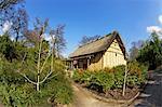 Japanischen Minka House, Royal Botanic Gardens, Kew, UNESCO Weltkulturerbe, London, England, Vereinigtes Königreich, Europa