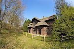 Queen Charlottes Cottage, Royal Botanic Gardens, Kew, UNESCO Weltkulturerbe, London, England, Vereinigtes Königreich, Europa