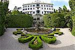 Villa Carlotta et jardins au soleil printanier, Tremezzo, lac de Côme, Lombardie, lacs italiens, nord de l'Italie, Europe