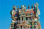 Sri Meenakshi temple, Madurai, Tamil Nadu, Inde, Asie