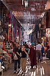 Souk, Marrakech, Maroc, l'Afrique du Nord, Afrique