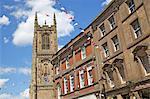 Derby Kathedrale in Derby, Derbyshire, England, Vereinigtes Königreich, Europa