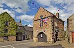 Haus Markt, Winster, Derbyshire, England, Vereinigtes Königreich, Europa