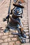 Minnie Minx-Statue, Dundee, Schottland