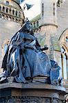 Königin Victoria Statue, die McManus, Dundee, Schottland