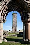 Cathédrale de St Andrews, St Andrews, Fife, Écosse
