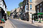 High Street à Pateley Bridge en Nidderdale, North Yorkshire, Yorkshire, Angleterre, Royaume-Uni, Europe