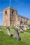 Église paroissiale de St. Mary's à Whitby, North Yorkshire, Yorkshire, Angleterre, Royaume-Uni, Europe