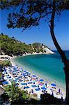 Lemonakia Beach, près de Kokkari, Samos, îles de l'Égée, Grèce