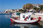 Fishing harbour, Ormos Marathokampos, Samos, Aegean Islands, Greece