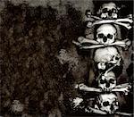 Human skulls and bones, Kutna Hora, Czech