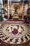 Interior of Siena Cathedral, Siena, Tuscany, Italy