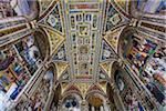 Piccolomini Library in Siena Cathedral, Siena, Tuscany, Italy
