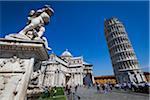 Tour penchée de Pise, Pise, Toscane, Italie