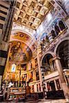 Intérieur de l'abside, Santa Maria Assunta, Pise, Toscane, Italie