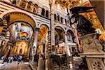Intérieur de Santa Maria Assunta, Pise, Toscane, Italie