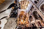 Interior of Santa Maria Assunta, Pisa, Tuscany, Italy