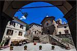 Church, Radda in Chianti, Tuscany, Italy