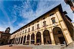 Vasari Loggia, Piazza Grande, Arezzo, Toscane, Italie