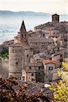 Buildings, Anghiari, Tuscany, Italy