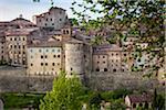 Town and City Walls, Anghiari, Tuscany, Italy