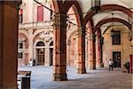 Palazzo D'Accursio, Piazza Maggiore, Bologna, Emilia-Romagna, Italy
