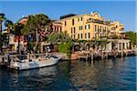 Wasser, Sirmione, Gardasee, Brescia, Lombardei, Italien