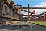 Cokerie, Zeche Zollverein, Essen, bassin de la Ruhr, Rhénanie du Nord-Westphalie, Allemagne