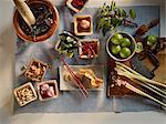 Ingrédients pour plats thaïlandais