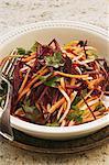 Salade de carottes et betteraves crue
